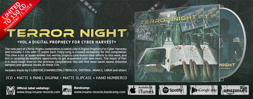 Order «Terror Night Vol.4 Digital Prophecy For Cyber Harvest»