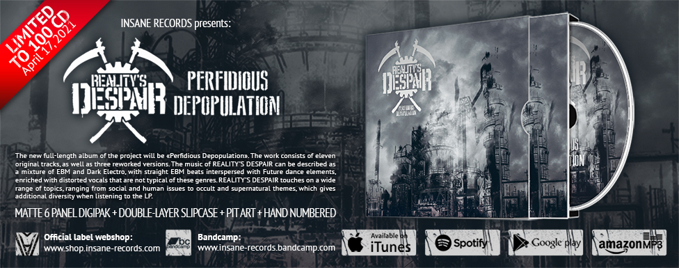 Purchase Reality's Despair - «Perfidious Depopulation»