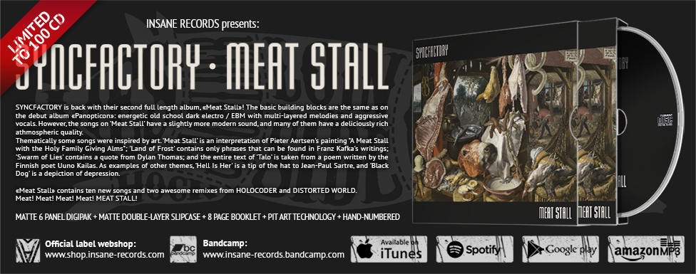 Order Syncfactory — «Meat Stall»