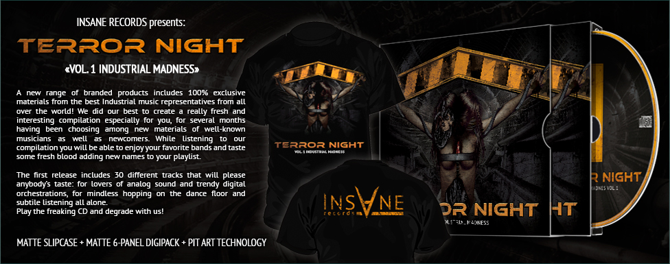 Order V/A — «Terror Night Vol.1 Industrial Madness»